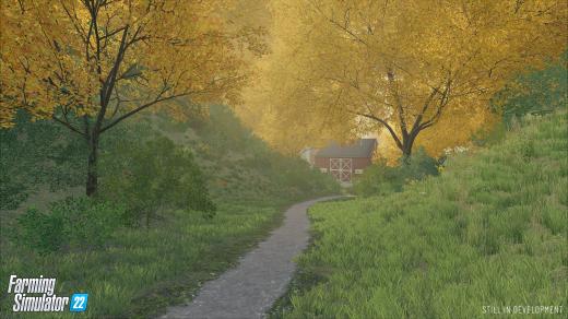 Farming Simulator 22 seasonal cycles