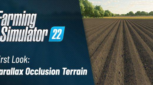 Farming Simulator 22 Parallax Occlusion Mapping