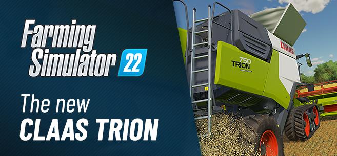 Simulator 22 - CLAAS TRION