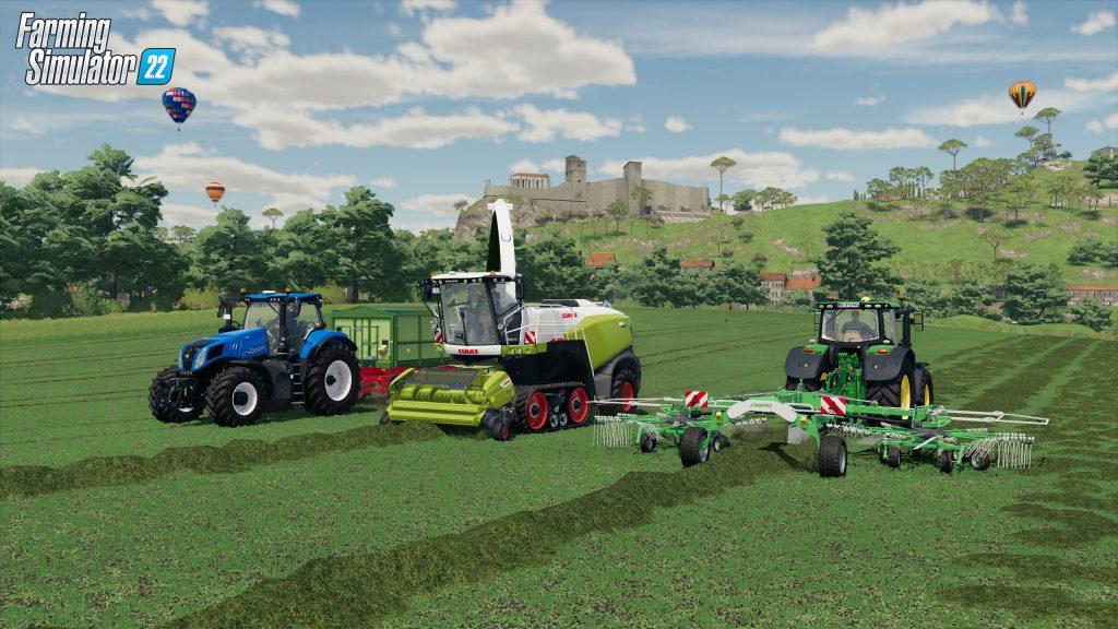Farming Simulator 22 Cross-platform multiplayer